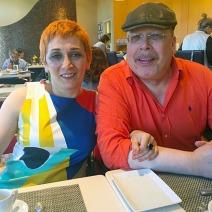 Margarit & Tony at Neiman Marcus Cafe 1