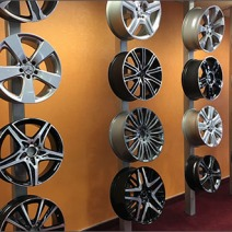 Mercedes Wheel Selection Display 4