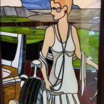 Mercedes Womens Restroom Stained Glass 2