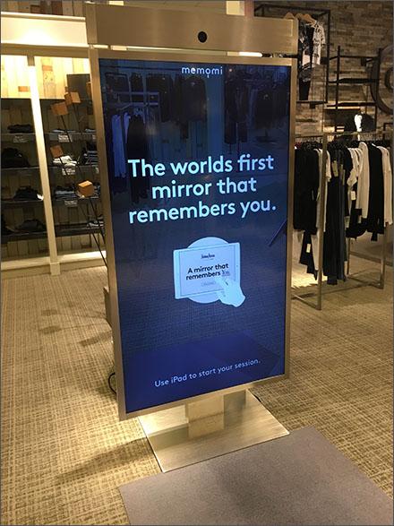 Neiman Marcus Mirror That Remembers Main