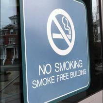 No Smoking Smoke Free Building Main