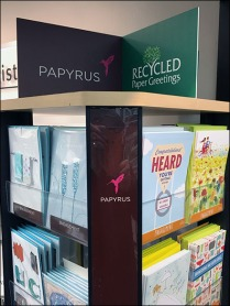 Papyrus Recycled Greeting Card Display 3