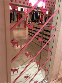 Pink Step-And-Repeat Mirror 1