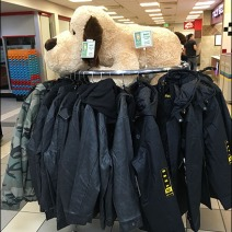 Plush Clothing Rack 2