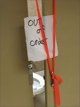 Restroom Stall Out-of-Order Sign Main