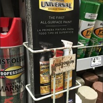 Rust-Oleum Branded One-Up Literature Rack 1