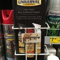 Rust-Oleum Branded One-Up Literature Rack 2