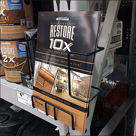 Rust-Oleum Restore Literature Rack Main
