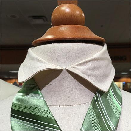 Shirt Collared Neckforms for Neckties CloseUp