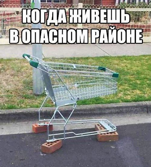 Shopping Cart Vandalism in Mother Russia 1