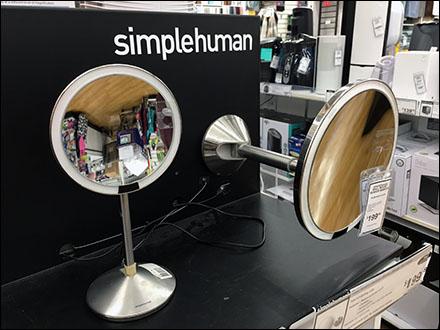 Simple Human Mirror Display Mirror