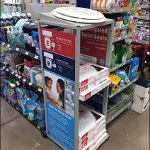 Toilet Seat Cashwrap Display 1