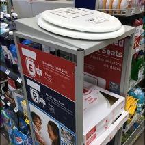 Toilet Seat Cashwrap Display 2