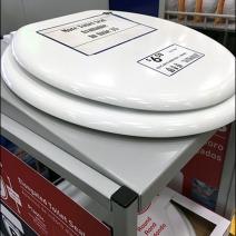 Toilet Seat Cashwrap Display 3