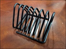 Triangular Wire Literature Rack Run Amok 3
