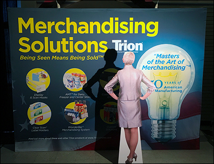 Trion Merchandising Solutions GlobalShop Booth 4