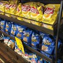 Under-Counter Perforated Snack Racks 3