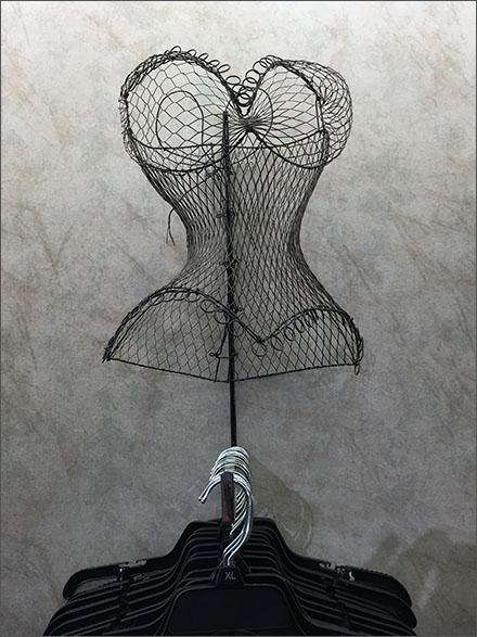 Wireform Bustiers Body Form Single Aux