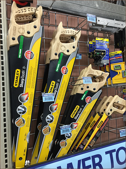 Art of Merchandising Saws Aux