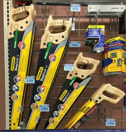Art of Merchandising Saws Main