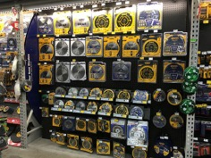 Circular Saw Blade Pegboard Display 1