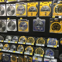 Circular Saw Blade Pegboard Display 2