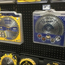 Circular Saw Blade Pegboard Display 3