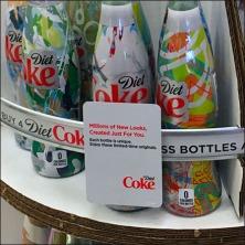 Coke Original Bottle Design Feature