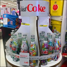 Coke Recycles Entire Display Feature