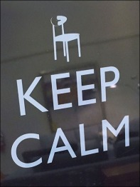 Dane Decor Uniters Keep Calm Only Scratch CloseUp