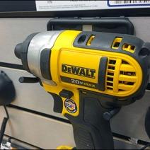 Dewalt Drill Slatwall Hook 1