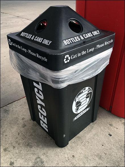 Four-Way Recycle Bin Main