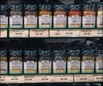 Gormanoff Spice Hunter® Gravity Feed Spice Rack Main