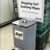 JoAnns Purell Sanitizier Cart Wipes 2