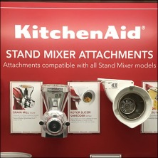 KitchenAid Mixed Attachment Display CloseUp