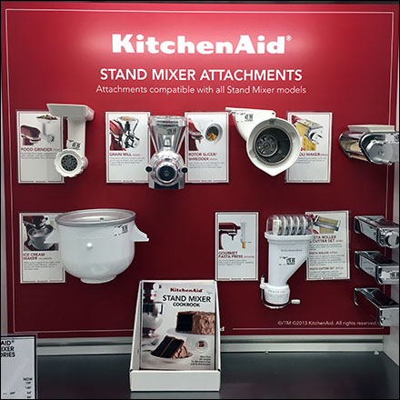 KitchenAid Mixed Attachment Display Front