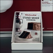 KitchenAid Mixer Literature Holder Feature