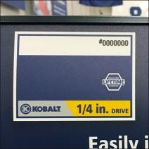 Kobalt Color Coding Drive Size 1