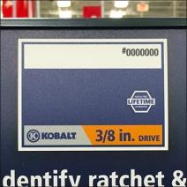 Kobalt Color Coding Drive Size 2