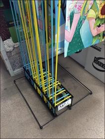 Lawn Flag Custom Floor Stand 2