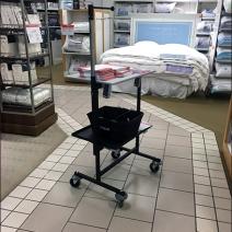 Macys Visual Merchandising Signage Cart 1