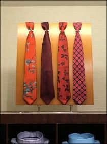 Necktie Pin-Up Board Standoffs 2