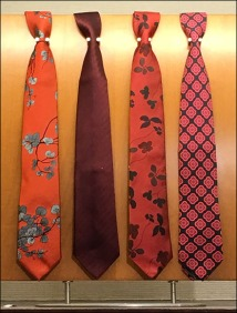 Necktie Pin-Up Board Standoffs 3