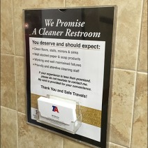 Restroom Pledge Travel Centers of America Main
