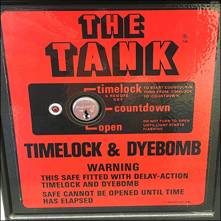 Safe Timelock Dyebomb Point-of-Purchase Main