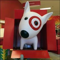 Target Bullseye Dog In A Box Feature