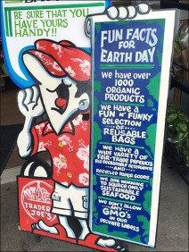 Trader Joes Earth Day Signage 2