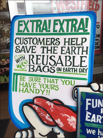 Trader Joes Earth Day Signage 3