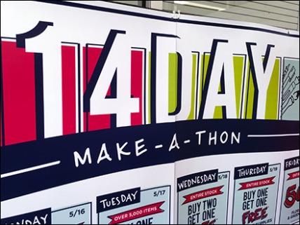 14 Day Make A Thon Michaels 2