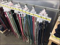 27 Belts Bar Hook Merchandised 2